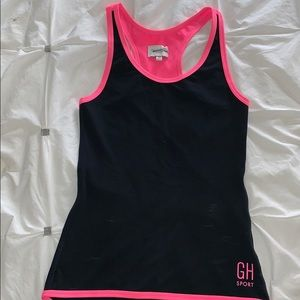 Gilly hicks workout active fitted tank top, XS
